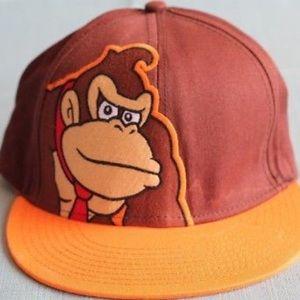 Donkey Kong SuperMario Snapback (NEVER WORN)